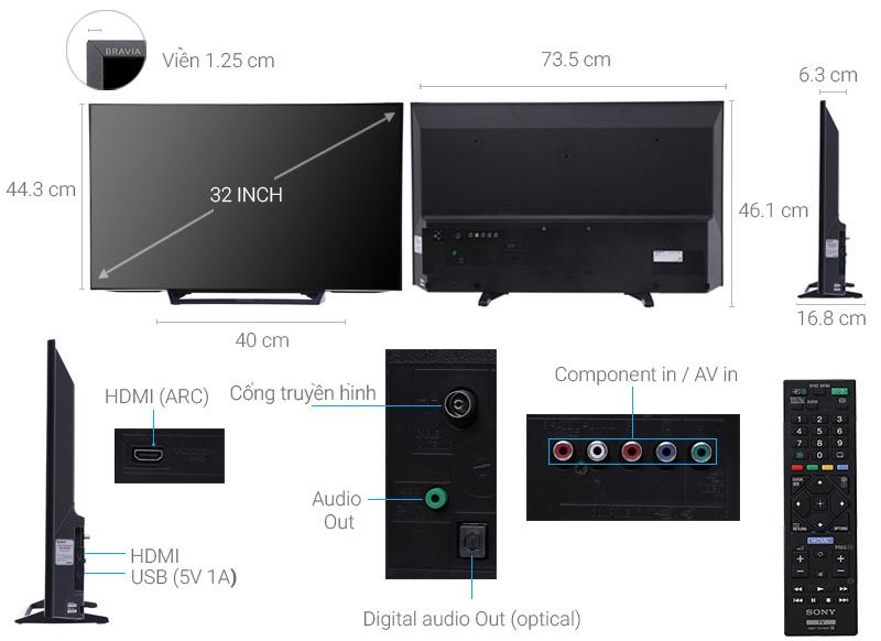 Sony 32 inch KDL-32R300E