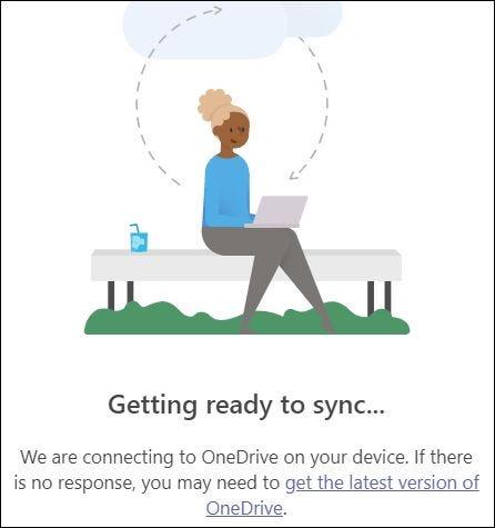 Thiết lập kết nối với ứng dụng khách OneDrive
