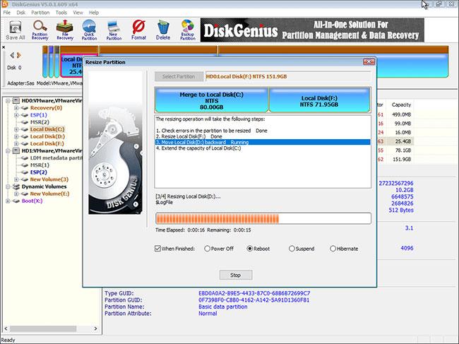 Máy tính sẽ tự động khởi động lại Windows