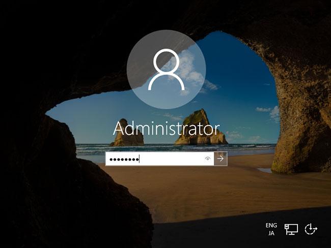 Nhập mật khẩu admin