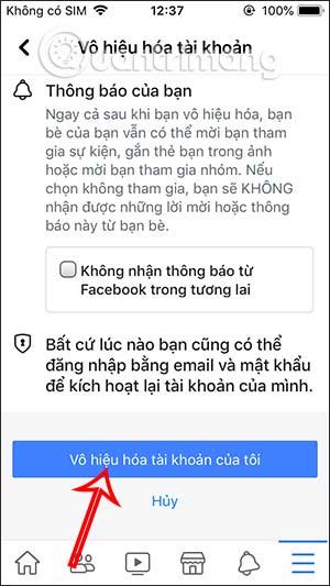 Cách khóa tài khoản Facebook tạm thời - Ảnh minh hoạ 11