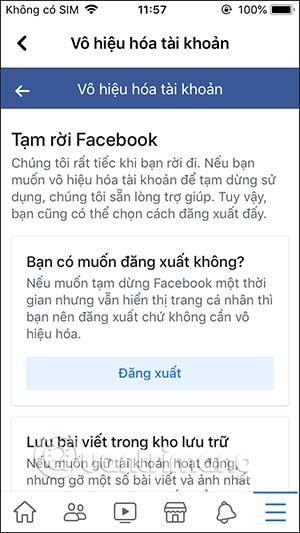 Cách khóa tài khoản Facebook tạm thời - Ảnh minh hoạ 8