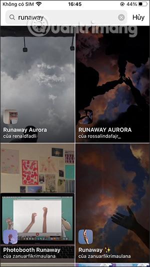 Cách tải hiệu ứng Runaway Aurora trên Instagram - Ảnh minh hoạ 4