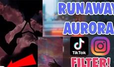 Cách tải hiệu ứng Runaway Aurora trên Instagram