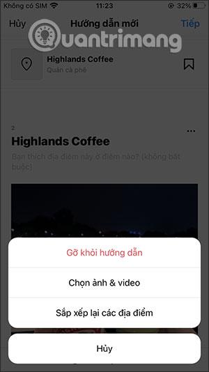 Cách tạo hướng dẫn địa điểm trên Instagram - Ảnh minh hoạ 8