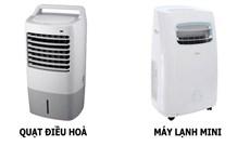 Máy lạnh mini là gì? So sánh máy lạnh mini với quạt điều hòa? Cái nào tốn điện hơn?