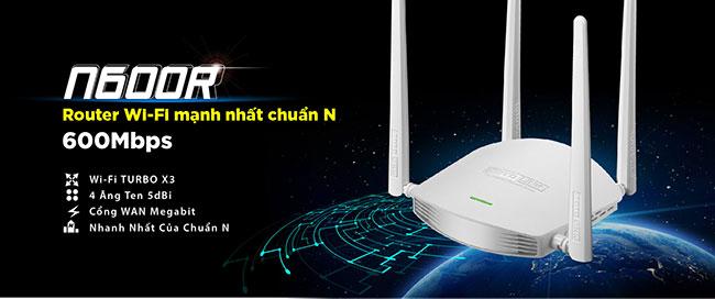 Totolink N600R là giải pháp WiFi tốt nhất cho những ngôi nhà và văn phòng nhỏ