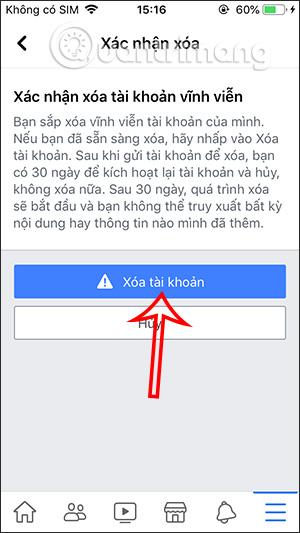 Cách xóa tài khoản Facebook vĩnh viễn trên điện thoại, máy tính - Ảnh minh hoạ 9