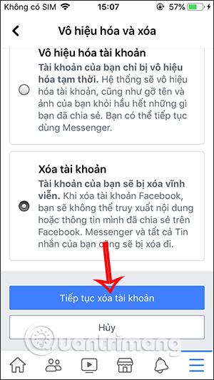 Cách xóa tài khoản Facebook vĩnh viễn trên điện thoại, máy tính - Ảnh minh hoạ 5