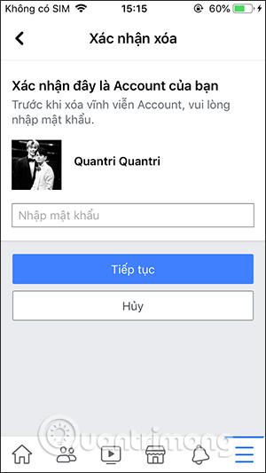 Cách xóa tài khoản Facebook vĩnh viễn trên điện thoại, máy tính - Ảnh minh hoạ 8