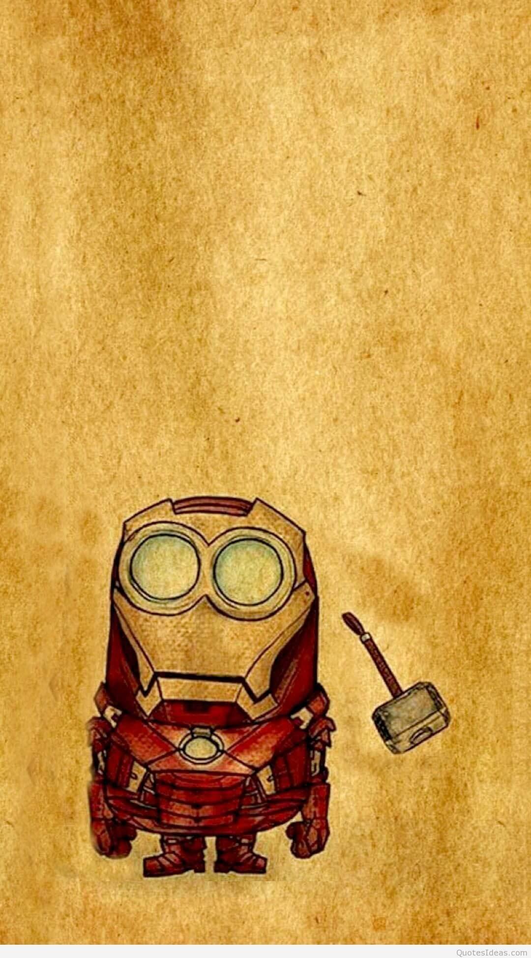 minion iron man