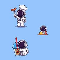 Hình nền phi hành gia, ảnh nền phi hành gia cute cho điện thoại