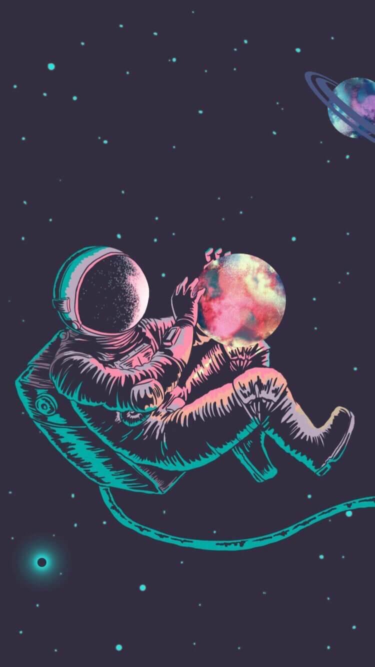 hình nền phi hành gia