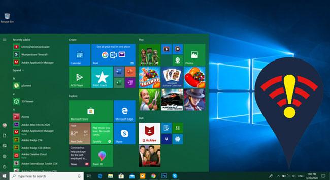 Windows 10 không thể kết nối với WiFi