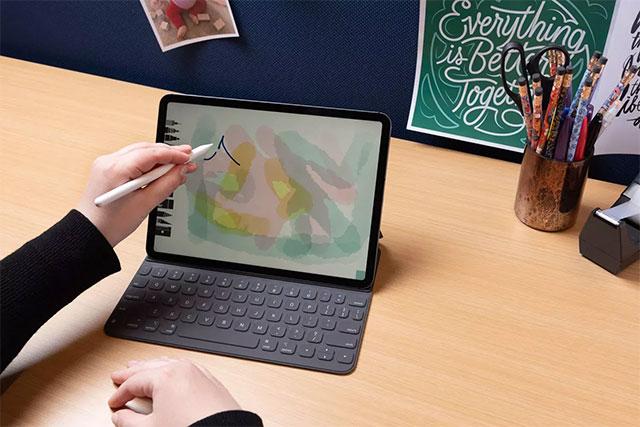 iPad Pro có thể được sử dụng như một chiếc máy tính xách tay