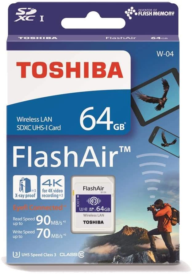 Toshiba FlashAir W-04 64 GB