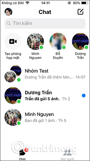 Nhóm chat Messenger
