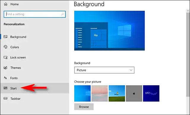 Cách ẩn danh sách ứng dụng được sử dụng nhiều nhất trong menu Start Windows 10
