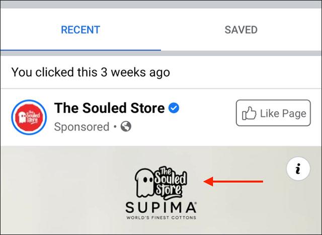 Cách tìm lại quảng cáo đã xem gần đây trên Facebook - Ảnh minh hoạ 4