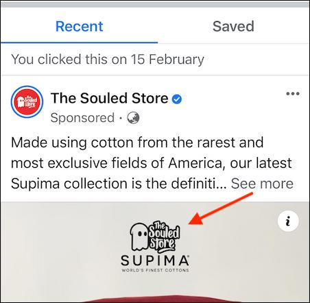 Cách tìm lại quảng cáo đã xem gần đây trên Facebook - Ảnh minh hoạ 7