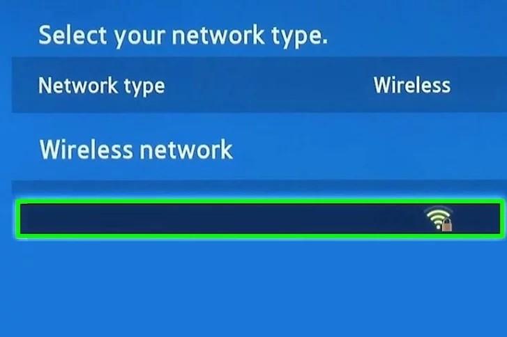 Chọn tên wifi mà bạn muốn truy cập