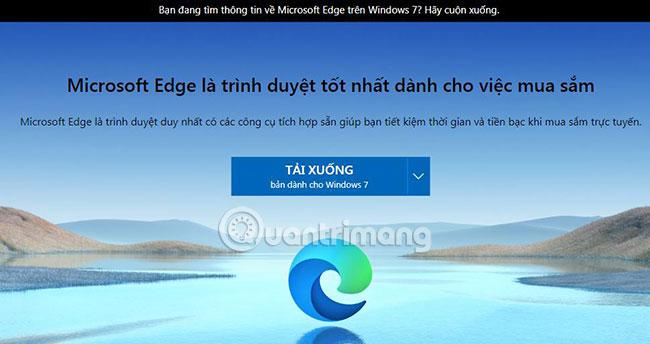 Tải Microsoft Edge cho Win 7