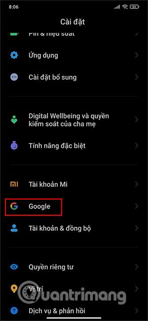 Mục Google