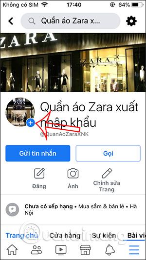 Cách chèn URL website vào Story Fanpage Facebook - Ảnh minh hoạ 3