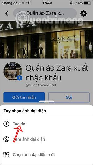 Cách chèn URL website vào Story Fanpage Facebook - Ảnh minh hoạ 4