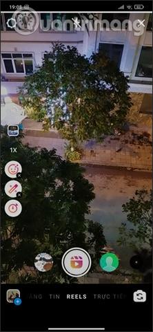 Chọn hiệu ứng quay video