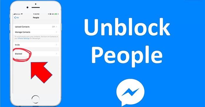 Cách bỏ chặn Messenger khi đã xóa cuộc trò chuyện trên iPhone, Android, PC