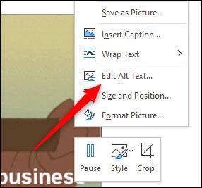 Cách chèn GIF vào Word và chỉnh sửa mô tả ảnh - Ảnh minh hoạ 4
