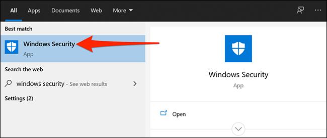 """Windows Security"""