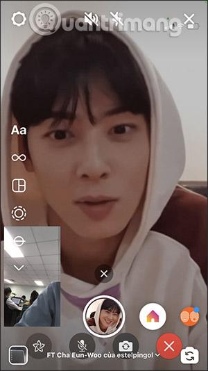 Hiệu ứng Face Time với idol