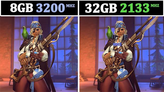 Sự khác biệt giữa công suất và tốc độ RAM