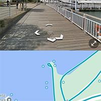 Cách chia đôi màn hình Google Maps khi xem phố