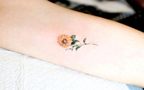 Xăm hình bông hoa