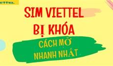 Cách lấy mã PIN và PUK khi bị khóa SIM Viettel
