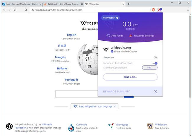 Đóng góp cho các trang web