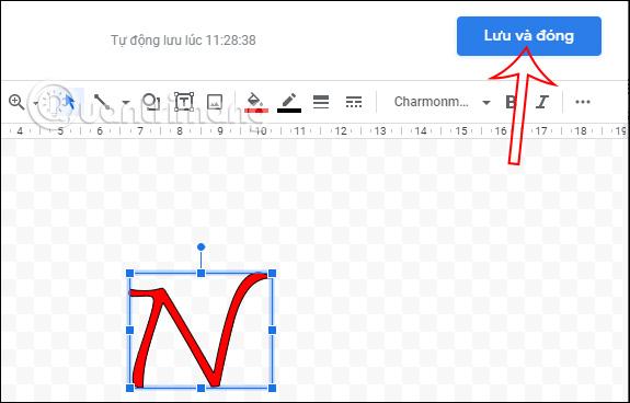 Cách tạo chữ cái lớn đầu dòng trong Google Docs - Ảnh minh hoạ 4