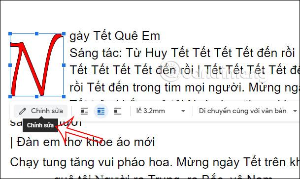 Cách tạo chữ cái lớn đầu dòng trong Google Docs - Ảnh minh hoạ 8