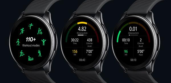 Các chế độ luyện tập trên OnePlus Watch