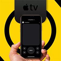Điều khiển Apple TV từ xa với iPad hoặc iPhone