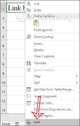 Cách chèn link ảnh trong Excel - Ảnh minh hoạ 2