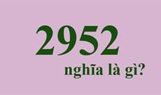 2952 nghĩa là gì trên Facebook?