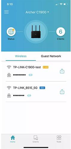 Ứng dụng Tether TP-Link