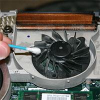 Cách vệ sinh quạt tản nhiệt laptop