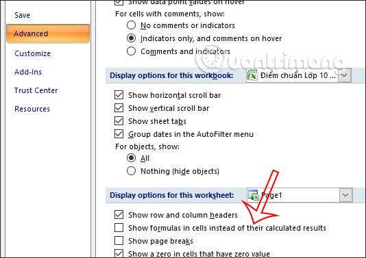 Cách sửa lỗi công thức Excel không nhảy - Ảnh minh hoạ 2