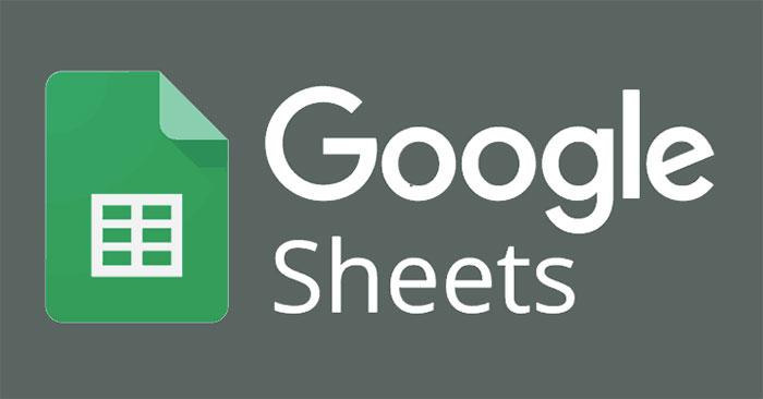 Cách sử dụng hàm SUMIF trong Google Sheets