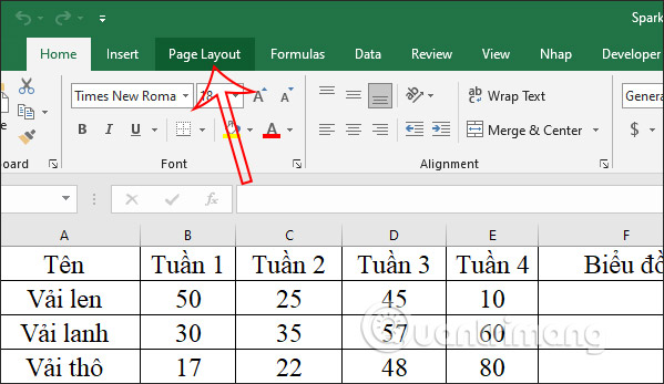 Cách sửa lỗi mất khung in trong Excel